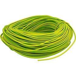 2mm Green / Yellow Sleeving x 100m