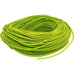 4mm Green / Yellow Sleeving x 100m
