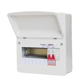 Fusebox F2007M 7 Way Main Switch Consumer Unit