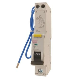 CP FuseBox 16 Amp 30mA RCBO C Type Residual Current Breaker Overload