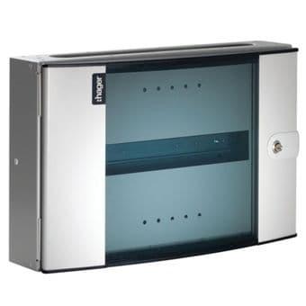 Hager Invicta 3 JK116EG Glazed Din Extension Box 16 Module