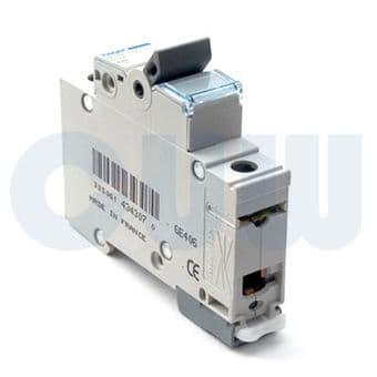 Hager NDN116A MCB Type D Single Pole 16A Overload 10kA Short Circuit