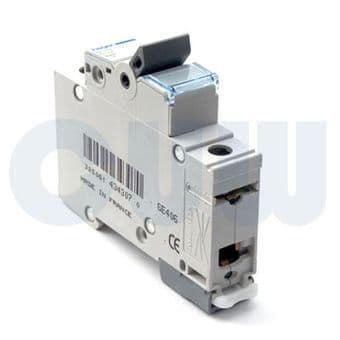 Hager NDN125A MCB Type D Single Pole 25A Overload 10kA Short Circuit
