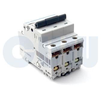 Hager NDN163A MCB Type D Single Pole 63A Overload 10kA Short Circuit