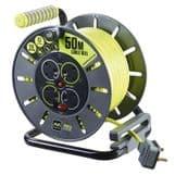 BG Electrical OLU50134SL 50 Metre Open Reel 4 Sockets