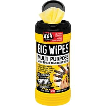 Big Wipes Multi Purpose 4x4 Cleaning Wipes