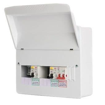 CP Fusebox F1010D80 10 Way Dual 80A RCD High Integrity Consumer Unit