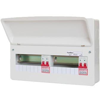 Fusebox F2014DT 14 Way Dual Tariff Consumer Unit
