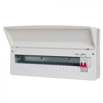 FuseBox F2021M 21 Way RCBO Consumer Unit