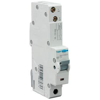 40 amp RCBO 30mA B Type Hager ADN140 Earth Leakage & Overload
