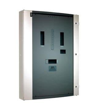 Hager JN206BG 6 Way 250A TP+N MCCB Panelboard