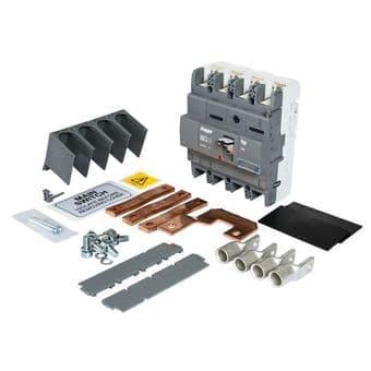 Hager JN223BS 250A 3 Pole MCCB Isolator Incomer Kit