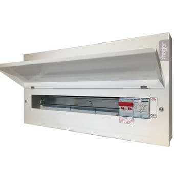 Hager VML118SPD 18 Way RCBO Consumer Unit with Integral Type 2 SPD