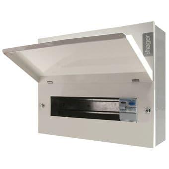Hager VML314H 14 Way Metal Consumer Unit 100A RCD Incomer Ammendment 3