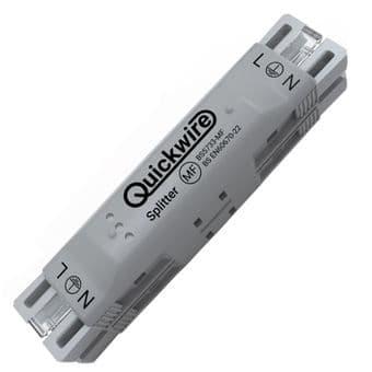 Quickwire Maintenance free Junction Box Splitter for lighting - QSP34