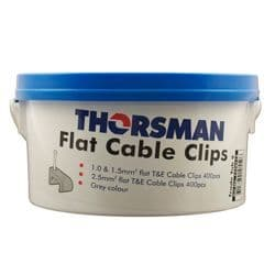Thorsman Trade Tub 1776112 Flat Cable Clips for T/E 6242yh