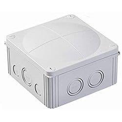Wiska Combi 1010/5 Grey Waterproof Junction Box