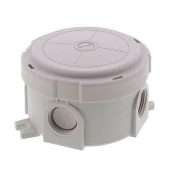 Wiska 304 Round Combi Box Grey