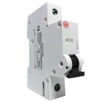 Wylex 32a MCB NHXB32 6kA B Type Curve Mini Circuit Breaker
