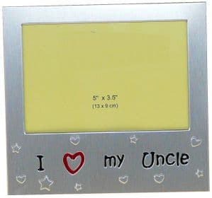 I Love My Uncle Photo Picture Frame Gift 5 x 3.5