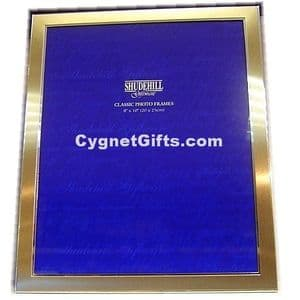 Lovely Gold Colour Photo Frame - 10 x 8 inches