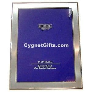 Lovely Silver Colour Photo Frame - 8 x 6 inches