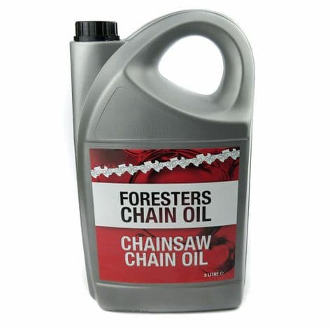 Chainsaw Chain Oil Super Tacky 5 Litres For All Makes Of Chain Saw