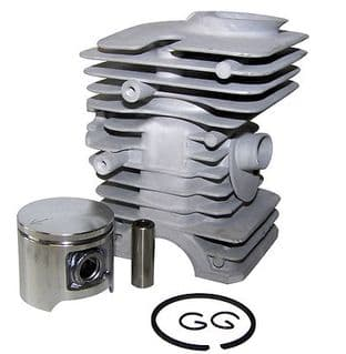 Cylinder & Piston Barrel Kit Fits Husqvarna 40, 45, 240R, 245R, 49, Jonsered 2041, GR41  P/N 506010607, 503625502 (40mm)