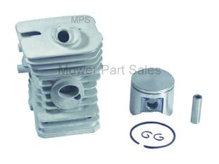Cylinder & Piston Barrel Kit Husqvarna 45, 245R, 245 RX 40, 240R, 240RX & Jonsered 2041, GR41, 2045 RS44 - Bore 42mm  503440802