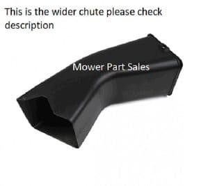 Genuine Grass Chute Some Newer HF2417 Mowers 76310-VK1-306, 76310VK1306