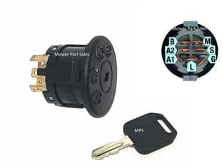 Ignition Switch Fits MTD & Murray Mowers Replaces 94762, MU94762, BS-94762MA, 925-1741, 725-1741