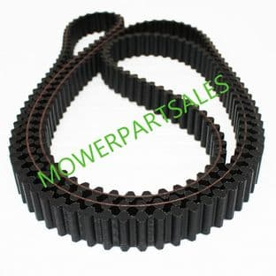 Iseki 48 Inch Deck Toothed Timing Cutting Belt Fits SXG19 & SXG22 & SCMA48M p/n 8663-203-001-00 or 866320300100