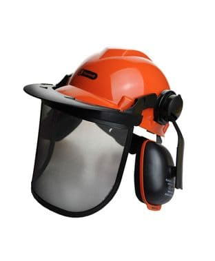 Rocwood Chainsaw Helmet Complete With Visor & Ear Muffs - Hard Hat (Zero Vat)