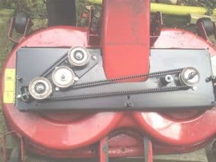 Toro Timing Toothed Deck Belt Fits DH-170, DH-220, 150-DH, 170 DH, 190-DH, 200-DH, 210-DH, 15/102, 16/102, PN 106-8591, 104-3112