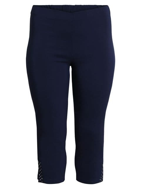 CISO Navy 3/4 Length Trousers