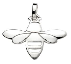 Elements Silver Bee Pendant P4488