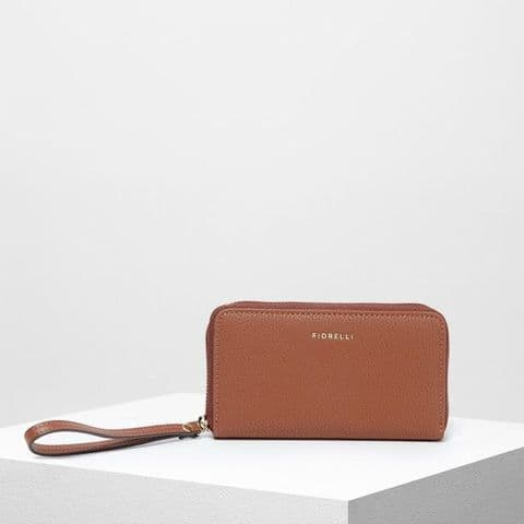 Fiorelli Finley Tan Zip Around Purse