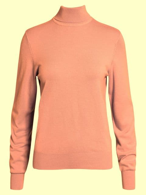 Jensen Ginger Spice Roll Neck Sweater