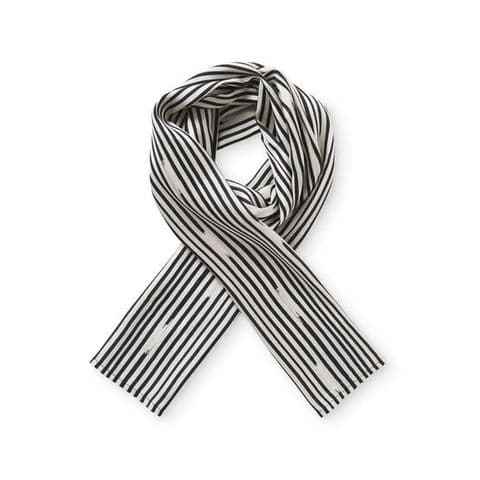 Masai Along Black Stripe Scarf