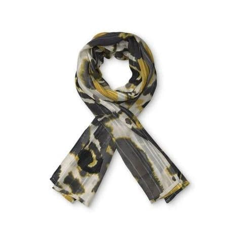 Masai Along Oil Yellow Scarf