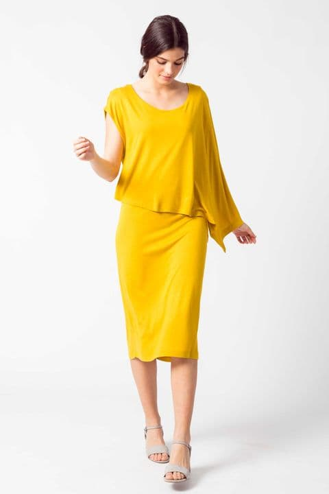SKFK Gartze Yellow Dress