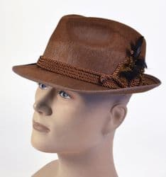 Brown Oktoberfest Beer Festival Hat (BH574)