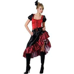 Can Can Saloon Girl Costume (EF2078)