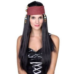 Caribbean Pirate Girl Wig