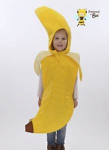 Childrens Banana Costume