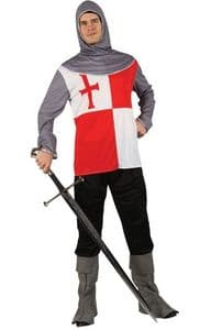 Crusader Knight costume - Medieval fancy dress costume.