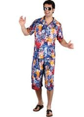 Hawaiian Party Guy Costume