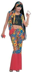 Hippy Lady Costume (3526)