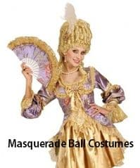 Masquerade Ball Costumes
