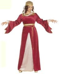 Medieval Court Milady Costume